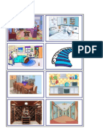 Flashcards parts of the house