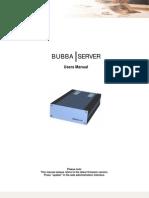Bubba Users Manual