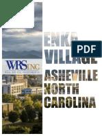 Proposed Enka Village project in Asheville, North Carolina
