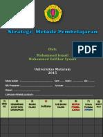 4- Zulfikar Strategi Pembelajaran 2015
