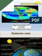 UNIDAD III Radiación Solar y Presión Atmosférica
