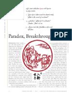 Paradox Breakthrough and the Zen Koan (John Tarrant)
