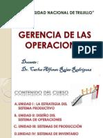 Gestion de Las Operaciones