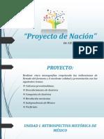 UNIDAD I Proyecto de Nación.pptx