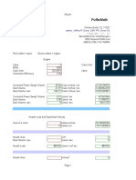 Gasifier Engine Calculation Spreadsheet