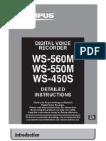 Ws450s Ws550m Ws560m Manual En