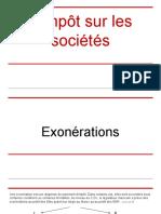 Is - Cas d'Exonérations