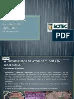 P UNIDAD 6 Movimiento de los átomos y iones en materiales.ppsx
