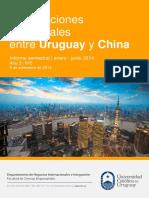 Informe 5 Relaciones Uruguay China Junio 2014