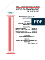 Analisis Foda del protocolo de taller de investigacion