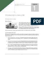 Capitulo 01 - Introduccion a C# y Java