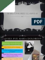 Maria Dolores l
