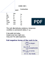 Verb BE and Possessive Adjectives