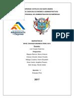 Informe Nivel Socioeconomico 2013