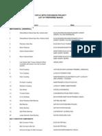 VSP 6.3- List of Preferred Makes as on 10.4.06