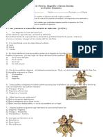 Prueba de Historia Los Pueblos Originarios 1