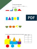 Prueba de Educación Matemática 2ª