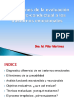 Evaluación Cognitivo-conductual (Prado2)