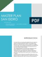 Master Plan San Isidro 2017