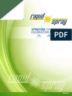 Spraying Information Calibration Procedures