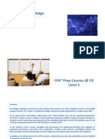 CK CFA Level 3 Course Description