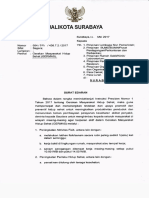 Surat Edaran Walikota Germas