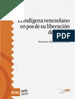 El Indigena Venezolano en Pos de Su Liberacion Definitiva