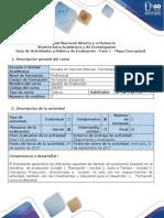 Guía de Actividades y Rúbrica de Evaluación - Fase 1 - Mapa Conceptual.
