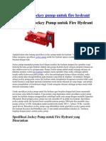 Jokey Pump