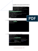 Prosedur Mengaktifkan Instal Program Dari DVD Fedora 6