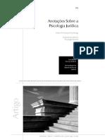 Anotaçoes sobre Psicologia Juridica.pdf