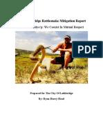 2017 Lethbridge Rattlesnake Mitigation Report