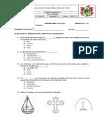 08 - 02; Examen Pre Periodo Octubre