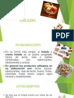 Diapositiva de Helados