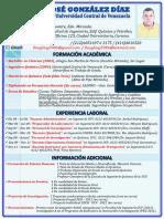 DOUGLAS GONZALEZ (Curriculum Vitae)