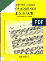 Adornos en la música de Bach