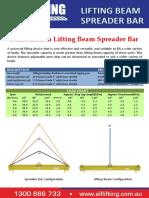 Combination-bar Lifting Beam and Spreader Beam