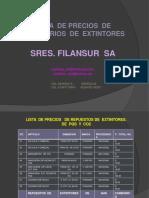 Lista de Prec. de Accesorios. (1)