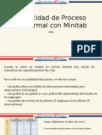 Capacidad de Proceso NO Normal Con Minitab 2016