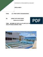 Informe de Saneamiento de La Ptap de Aziruni 0001