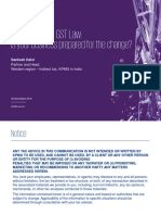 Analysis of the Gst Law