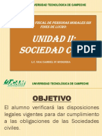 Asociacion Civil y Sociedad Civil 2017