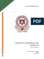 Concepto y Desarrollo Del Producto
