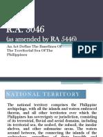 5 Territorial Baseline, EEZ & South China Sea Dispute