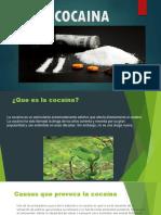 Cocaina Trabajo Power Point Trabajo Terminado