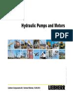 LIEBHERR  Pumps and Motors