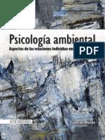 Psicología Ambiental . Aspectos de Relaciones Individua Medio Ambiente 1ra Edición