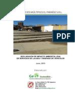 DIA- Servicio de Lavado y Engrasede Vehículos (Junio 2015)