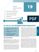 Physics 19 Op Th Relativity