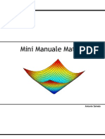 Mini Manuale Matlab 1.0-r2